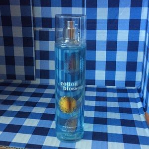 Bath body works cotton blossom fine fragrance mist